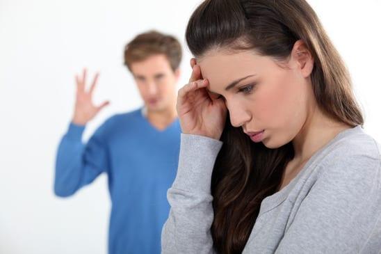 Toxic Relationship: Couple Quarreling
